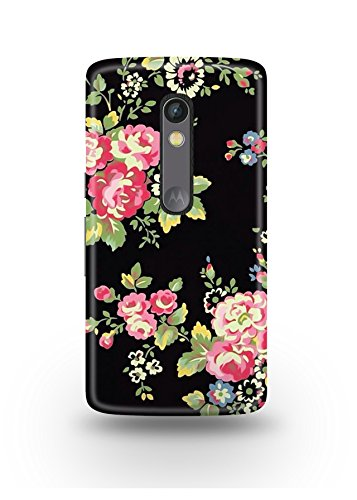 Moto X Play Cover,Moto X Play Case,Moto X Play Back Cover,Artistic Floral Pattern Moto X Play Mobile Cover By The Shopmetro-12392