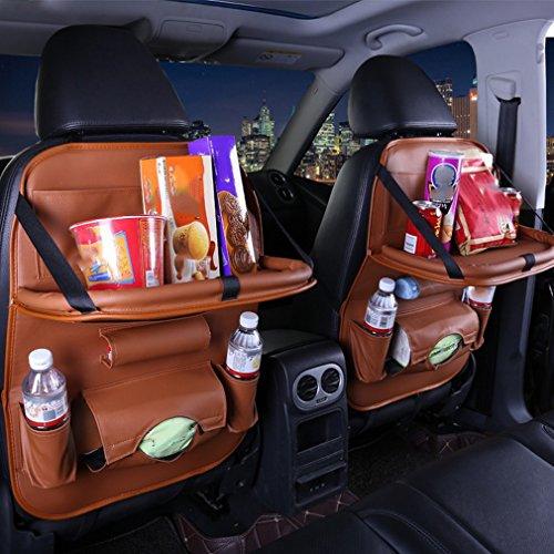 IU Auto Aufbewahrungstasche Sitz zum Aufhängen Tasche Multifunktional Stuhl Retro Tasche Auto Tasche Aufbewahrungstasche High 66CM wide 45CM a