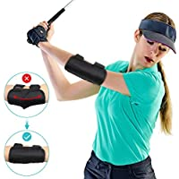 Yosoo Health Gear Golf Training Aid Swing Elbow Trainer Golf Posture Brace for Beginners Training with Tok-Tok Sound Notifications