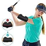 Yosoo Health Gear Golf Swing Guide Entrainement au Swing Trainer Coude Posture de Swing Aide Entraînement Correcteur avec Notifications sonores Tok-Tok...