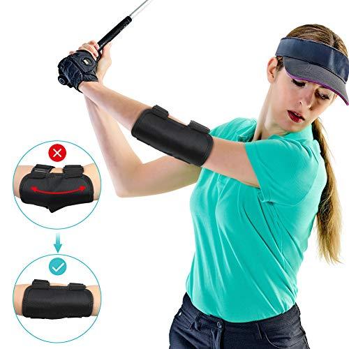 Yosoo Health Gear Golf Trainingshilfe, Golf Schwungtrainer Elvow Ellbogen Trainingshilfen Golf Swing Trainer Aid Golfschwung Golf Schwungtraining für Anfänger Training mit Tok-Tok Sound Notifications -