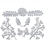 Ularma DIY Metal Cutting Dies Stencil for Scrapbooking Embossing Album Paper Card Hand Craft Lessons Party Decor (B)