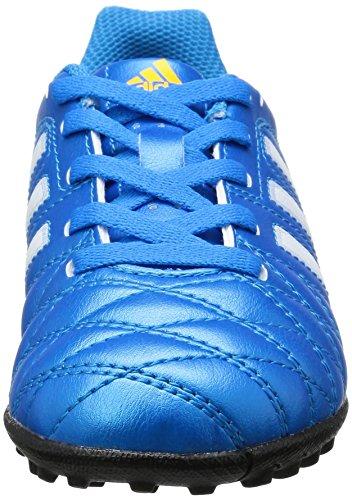 Adidas Boy 's 11Questra IN J TF Stiefel Mehrfarbig mehrfarbig SOLBLU/RUNWHI/BLACK1