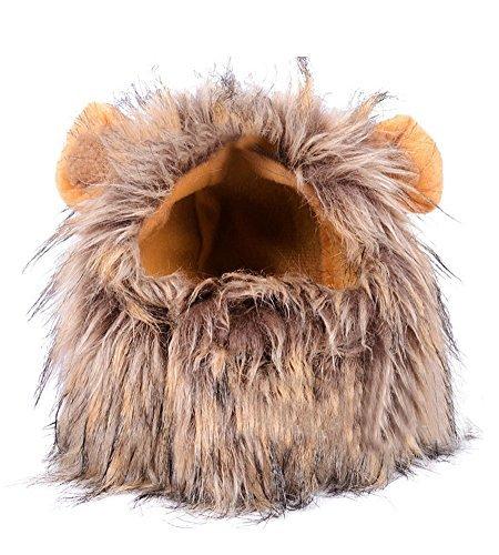 Löwe Mähne Perücke Cosplay Mit Ohren Halloween Verkleiden (Erstaunliche Cosplay Kostüme)