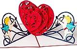 Hochzeitskarte/Liebeskarte