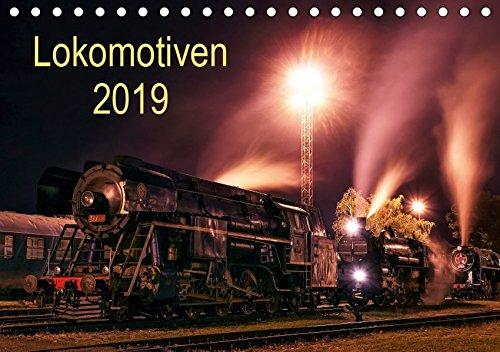 Lokomotiven 2019 (Tischkalender 2019 DIN A5 quer): Potraits und Details der Lokomotiven (Monatskalender, 14 Seiten ) (CALVENDO Technologie)