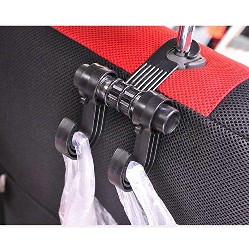 Eximtrade Auto Kleiderbügel Klammer Haken Autositz Tasche Regenschirm (Bluetooth-anhänger-lichter)