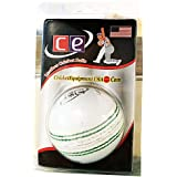 QUINERGYS Professional Grade Hand-Crafted Sports Thunder White Leather Ball Pacer Professional Grade