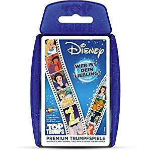 Winning Moves win62561 - Top Trumps: Disney Classic 2016, Familias Juego de Estrategia