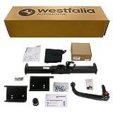 Westfalia Abnehmbare Anhängerkupplung für Sportage (BJ 08/10-02/16) im Set mit 13-poligem fahrzeugspezifischen Elektrosatz