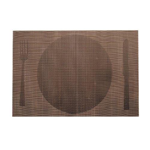 Lacor 45 x 30 cm-Tapis-Marron-Plaque Individuel