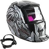Casco de soldadura - TOOGOO(R)Casco de soldadura de oscurecimiento automatico solar TIG MIG Soldador Mascara de pulido de lentes