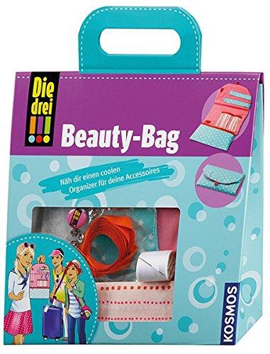 KOSMOS 635046 - Die drei !!! Beauty-Bag (Logo Häkeln)