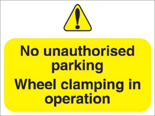 stewart-superior-outdoor-no-uauthorised-parking-clamping-in-operation-sign-foamboard-ref-fb047