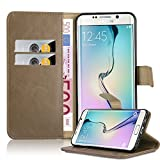 Cadorabo Coque pour Samsung Galaxy S6 EDGE PLUS , MARRONE CAPPUCINO Design...