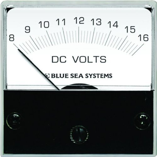 Blue Sea Systems 8028 DC Analog Micro Voltmeter by ACR Electronics