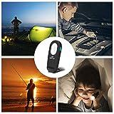 Gaddrt Torce portatili - Lampada da lavoro ricaricabile SMD LED Slim Lampada Ispezionabile Design Pieghevole Per Caccia, Campeggio, Pesca Notturna, Giro Notturno, Riparazione Auto
