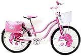 """Reset Bicicletta per Ragazza 24"""" Princess Rosa"""