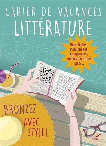 Cahier de vacances littérature