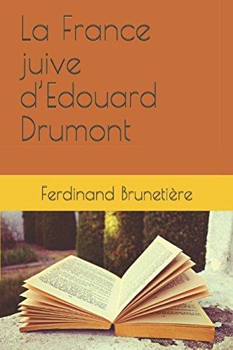 La France juive dEdouard Drumont