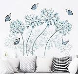 Reyqing Carta da parati, butterfly applique, Galleria appiccicosa, camera da letto caldo adesivo di carta da parati, soggiorno a parete, decorazioni murali autoadesivi sfondo,grande