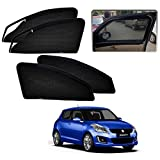 #6: Casotec Magnetic Foldable Window Sun Shades for Maruti Suzuki Swift (2014 to 2017) - Set of 4 - with Zipper