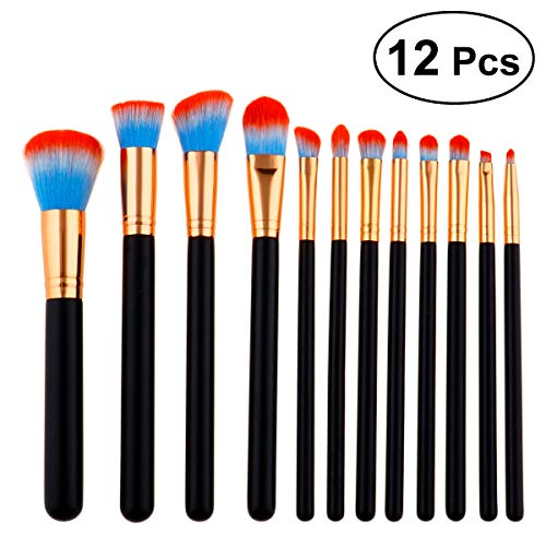 12pcs cosmétiques professionnels haut de gamme pinceaux de maquillage Rose Tube haut de gamme