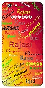 Rajasi (Goddesss Durga) Name & Sign Printed All over customize & Personalized!! Protective back cover for your Smart Phone : Moto E-2 ( 2nd Gen )
