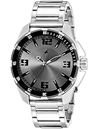 Fastrack Analog Grey Dial Men's Watch -NK3084SM02