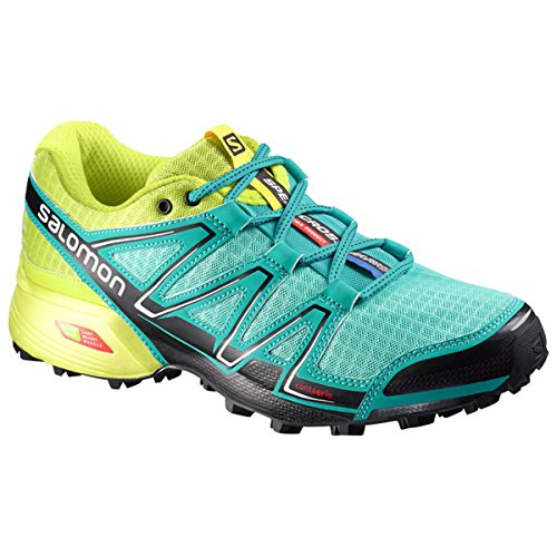 Salomon Speedcross Vario, Chaussures de trail femme bubble blue/gecko green/black