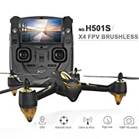Original Hubsan H501S X4 5.8G FPV RC Drone With 1080P HD Camera Quadcopter with GPS Follow Me CF Mode Automatic Return by XT-XINTE