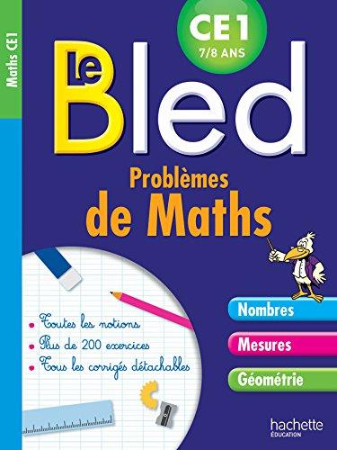 Cahier Bled Problèmes De Maths CE1
