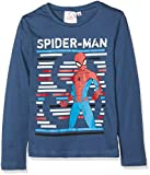 Marvel Spiderman, Camiseta para Niños, Blue (Navy 19-4026tc), 4 años