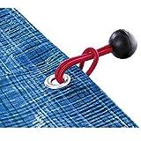 Ribimex - Attache Rapide Boule Elastique Pour Bache Par 10