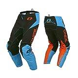 O'Neal Element Racewear Motocross Hose Enduro MX FR Motorrad Downhill MTH DH Cross Bike, 010E-R-Adult, Farbe Blau, Größe 40