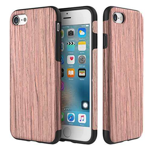 coque-iphone-7rock-ral-naturel-grain-de-bois-coque-tui-castpu-soupledouble-coucheplaque-mtalsupport-