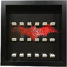 PapiMax minifigure marco vitrina para minifiguras lego batman o lego batman película minifiguras caja de almacenamiento