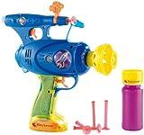 Playtastic Seifenblasenpistole: 3in1-Spielzeugpistole: Schießt Seifenblasen, Wasser & Gummipfeile...