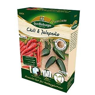 Anzuchtset Chili Jalapeno von Quedlinburger Saatgut