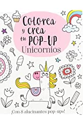 Descargar gratis Colorea y crea tu pop-up. Unicornios en .epub, .pdf o .mobi