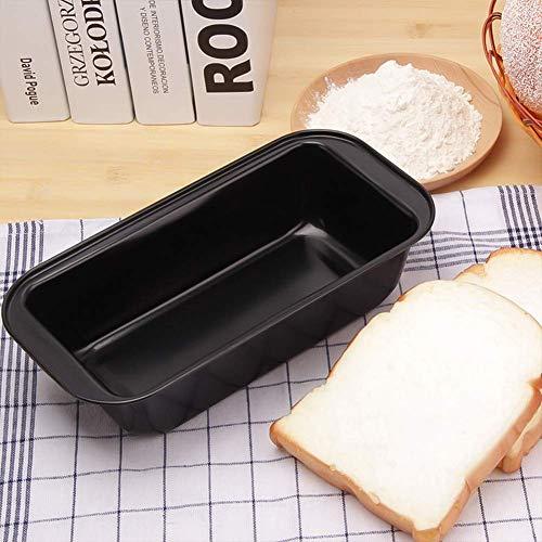 HEILA Rechteckige kohlenstoffstahl brotform backen kuchenform backen Werkzeuge DIY Kuchen antihaft Brot backen liefert (Black 29.5cm) Black Bread Butter Plate