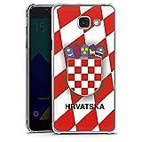 DeinDesign Samsung Galaxy A5 Duos 2016 Hülle Case Handyhülle Kroatien Em Trikot Football Fussball