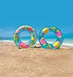 #10: Intex Kids Children Circular Inflatable Swim Ring Float, Size 61 Cm For Ages 6 - 10 Years