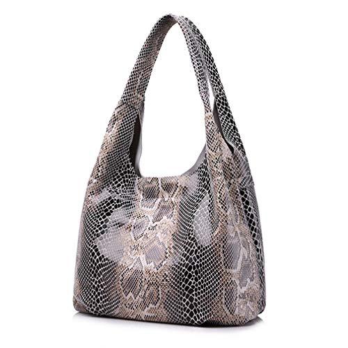 Juicy Couture Tote Handtasche (Lederhandtaschen Große Totes Schultertasche beige)