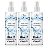 Wark24 Wasserbett Vinylreiniger 250ml - Reinigung & Pflege - mit Pumpzerstäuber - für Wassermatratzen/Wasserbetten (3er Pack)