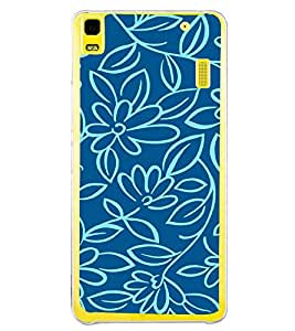 Flowers Wallpaper 2D Hard Polycarbonate Designer Back Case Cover for Lenovo A7000 :: Lenovo A7000 Plus :: Lenovo K3 Note
