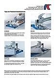 Kaufmann Fliesenschneider TopLine PRO 920 mm Robust Grundplatte aus Stahl