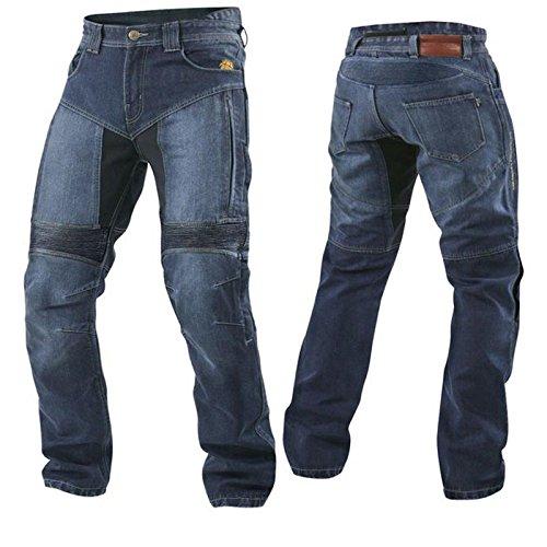 Trilobite AGNOX Forcefield Herren Motorrad Hose lang Aramid Fasern Jeans Schutz verstärkt, 3066604, Größe 34/50