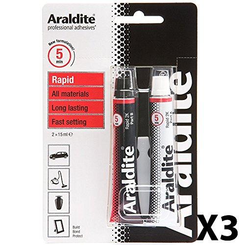 Preisvergleich Produktbild Araldite ARA400005 selbstklebend,  Epoxy,  Tube,  15 ml