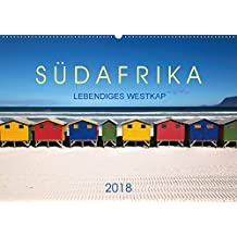 Südafrika - Lebendiges Westkap (Wandkalender 2018 DIN A2 quer): Das Westkap Südafrikas bietet eine unvergleichliche Vielfalt. Vom hippen ... (Monatskalender, 14 Seiten ) (CALVENDO Orte)